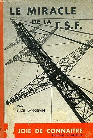 LE MIRACLE DE LA T.S.F., HISTOIRE DU TELEGRAPHE ET DU TELEPHONE: LANGEVIN Luce