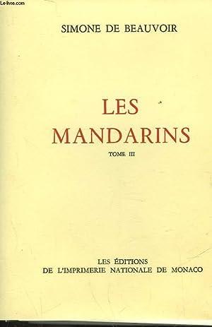 LES MANDARINS - TOME III: BEAUVOIR SIMONE DE