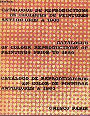 CATALOGUE DE REPRODUCTIONS EN COULEUR DE PEINTURES: COLLECTIF