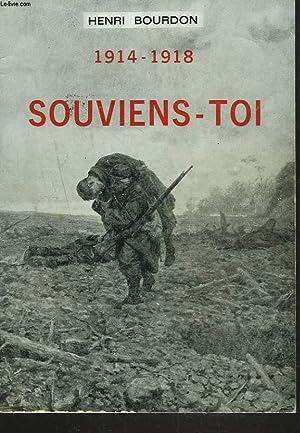 1914-1918. SOUVIENS-TOI.: HENRI BOURDON