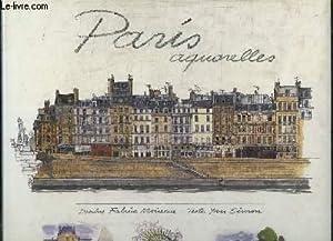 PARIS AQUARELLES.: SIMON TEXTES.