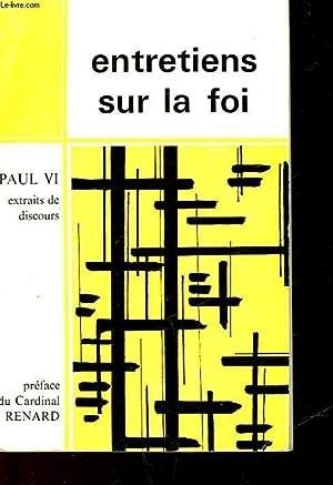 ENTRETIENS SUR LA FOI: PAUL VI