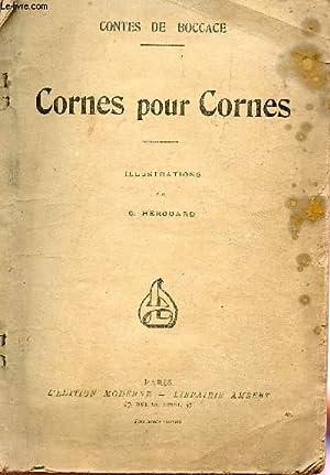 CONTES DE BOCCACE / CORNES POUR CORNES: BOCCACE JEAN