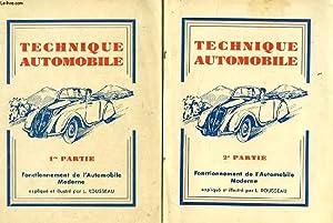 TECHNIQUE AUTOMOBILE, 2 TOMES: ROUSSEAU L.