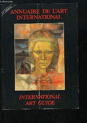 Annuaire de l'Art International,: COLLECTIF