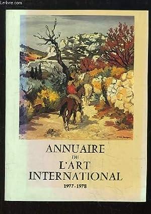 Annuaire de l'Art International, 1977 - 1978: COLLECTIF