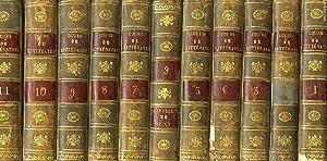 LYCEE OU COURS DE LITTERATURE ANCIENNE ET MODERNE, 16 TOMES: LAHARPE J. F.
