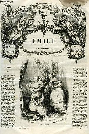 ROMANS, CONTES ET NOUVELLES ILLUSTRES: EMILE: ROUSSEAU J.-J.