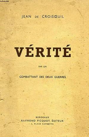 VÉRITÉ: CROISOEUIL JEAN DE