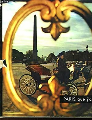 PARIS QUE J'AIME.: CLEBERT JEAN-PAUL
