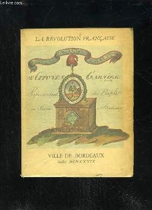 LA REVOLUTION FRANCAISE - CENT CINQUANTIEME ANNIVERSAIRE: COLLECTIF