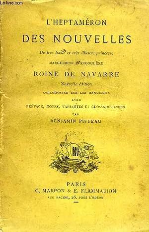 L'HEPTAMERON DES NOUVELLES, 2 TOMES: NAVARRE MARGUERITE DE,