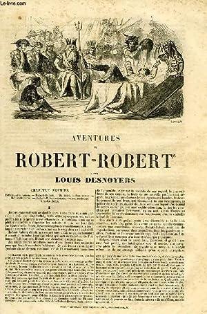AVENTURES DE ROBERT-ROBERT: DESNOYERS Louis
