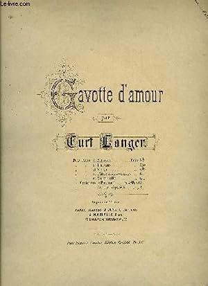 GAVOTTE D'AMOUR: LANGER Curt