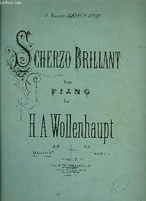 SCHERZO BRILLANT: WOLLENHAUPT H.A.