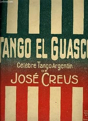 TANGO EL GUASCO: CREUS José