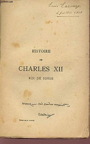 HISTOIRE DE CHARLES XII - ROI DE SUEDE.: VOLTAIRE