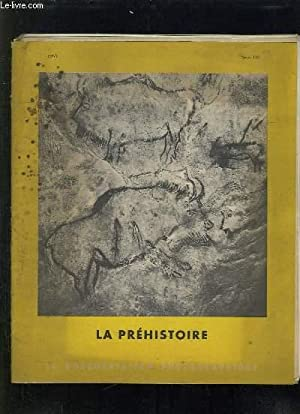 LA DOCUMENTATION PHOTOGRAPHIQUE N° 146. 1955. LA PREHISTOIRE.: COLLECTIF.