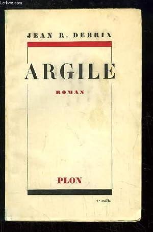 Argile: DEBRIX Jean R.