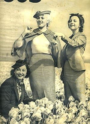 POUR VOUS, LE PLUS GRAND HEBDOMADAIRE DU CINEMA N°391, MAI 1936. NITA RAYA, YVETTE LEBON, ...