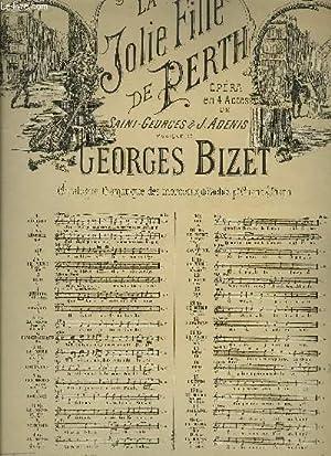 LA JOLIE FILLE DE PERTH: BIZET Georges / SAINT-GEORGES / ADENIS J.