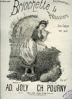 BRIOCHETTE LA PATISSIERE: POURNY Ch. /