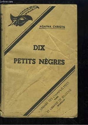 Dix petits nègres (Ten Little Niggers): CHRISTIE Agatha