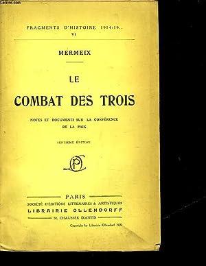 LE COMBAT DES TROIS: MERMEIX