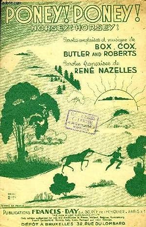 PONEY! PONEY! (HORSEY! HORSEY!): BOX / COX / BUTLER / ROBERTS / NAZELLES René