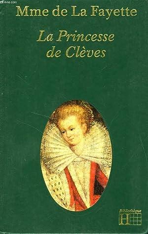 LA PRINCESSE DE CLEVES: LA FAYETTE Madame de