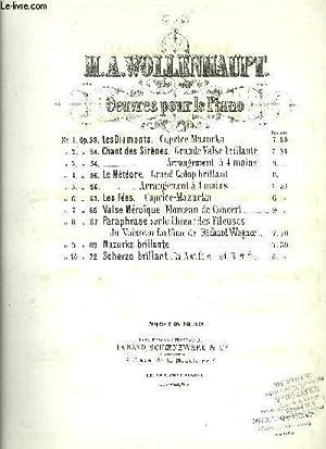 MAZURKA BRILLANTE: WOLLENHAUPT H.A.