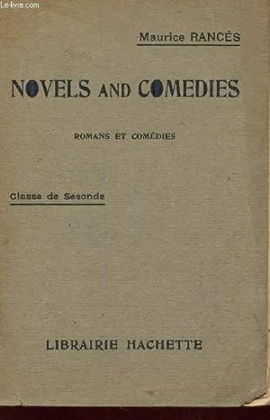 NOVELS AND COMEDIES - ROMANS ET COMEDIES / CLASSE DE SECONDE.: RANCES MAURICE