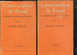 2 TOMES. L AUTO ANALYSE DE FREUD: ANZIEU DIDIER.