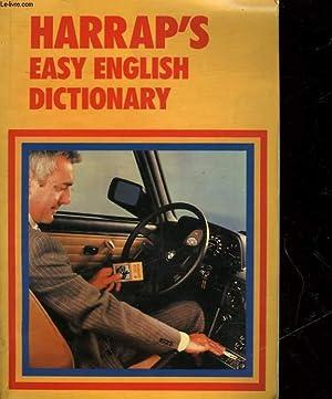 HARRAP'S EASY ENGLISH DICTIONARY: COLLECTIF