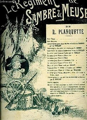 LE REGIMENT DE SAMBRE ET MEUSE: PLANQUETTE R.
