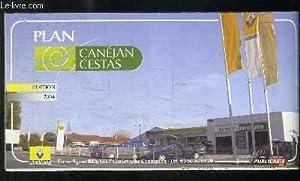 PLAN DEPLIANT CANEJAN CESTAS.: COLLECTIF.