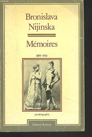 MEMOIRES. 1891-1914.: BRONISLAVA NIJINSKA