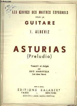 ASTURIAS (PRELUDIO): ALBENIZ I.