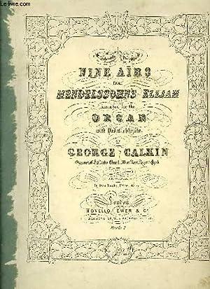 NINE AIRS FROM MENDELSSOHN'S ELIJAH: CALKIN George