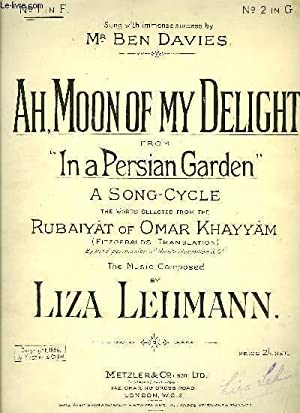 AH, MOON OF MY DELIGHT: LEHMANN Liza /