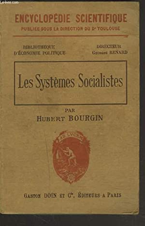 LES SYSTEMES SOCIALISTES: HUBERT BOURGIN