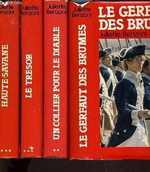 LE GERFAULT DES BRUMES TOME 1 - TOME 2 : UN COLLIER POUR LE DIABLE - TOME 3 : LE TRESOR - TOME 4 : ...