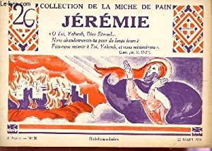 JEREMIE / 4e ANNEE - N°26 - 22 MARS 1938 / COLLECTION DELA MICHE DE PAIN.: COLLECTIF / TRIBOU J.