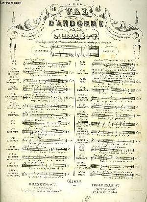 LE VAL D'ANDORRE: HALEVY F. / DE ST. GEORGES