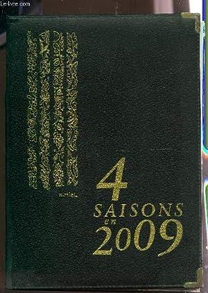 4 SAISONS EN 2009 / VOTRE-LIVRE AGENDA 2009 - HOMMAGE A MATISSE.: COLLECTIF