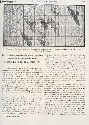 LA CONSTRUCTION MODERNE : 41 ANNEE - FASCICULE N°10 - 6 DECEMBRE 1925 / LA REVISION ...