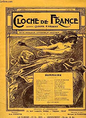 CLOCHE DE FRANCE, 2e ANNEE, N° 5, MAI 1912: COLLECTIF