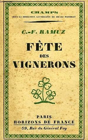 FETE DES VIGNERONS: RAMUZ C.-F.
