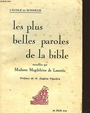 LES PLUS BELLES PAROLES DE LA BIBLE: LANARTIC MAGDELEINE DE