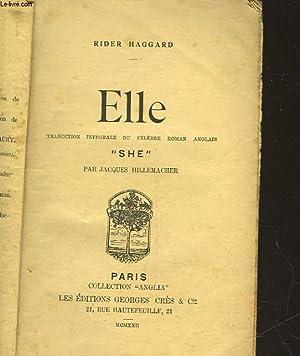 ELLE - SHE: HAGGARD RIDER